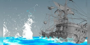 Pirate Ship FX in Houdini
