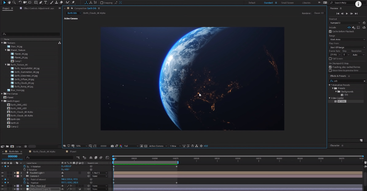 Ultra 3D Earth Tutorial! + Free ORB Plug-in! 100% After