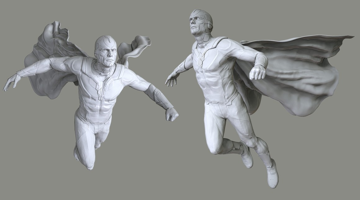 Avengers Vision by Vladimir Minguillo