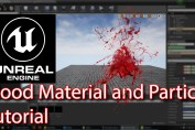 Unreal engine | Blood Material and Particle Tutorial