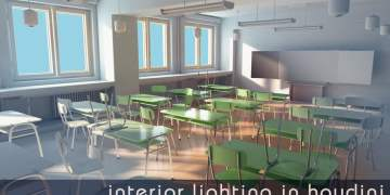 Interior Rendering in Houdini by Rohan Dalvi
