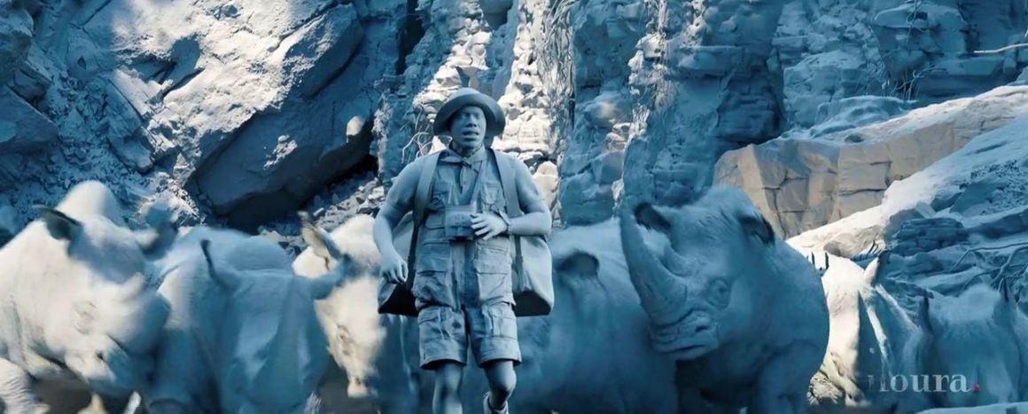 Jumanji Welcome to the Jungle VFX Breakdown
