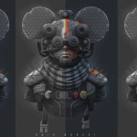Mickey Mecha Boy by Omid Moradi