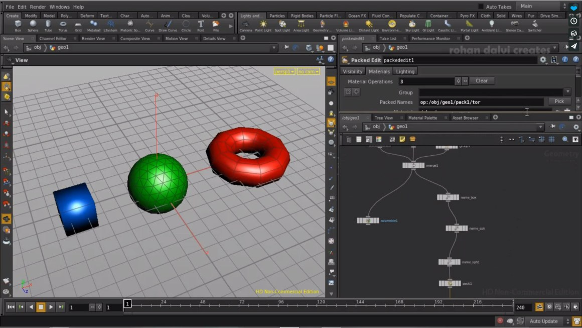 Packed Primitives in Houdini 13 - Part 2 by Rohan Dalvi