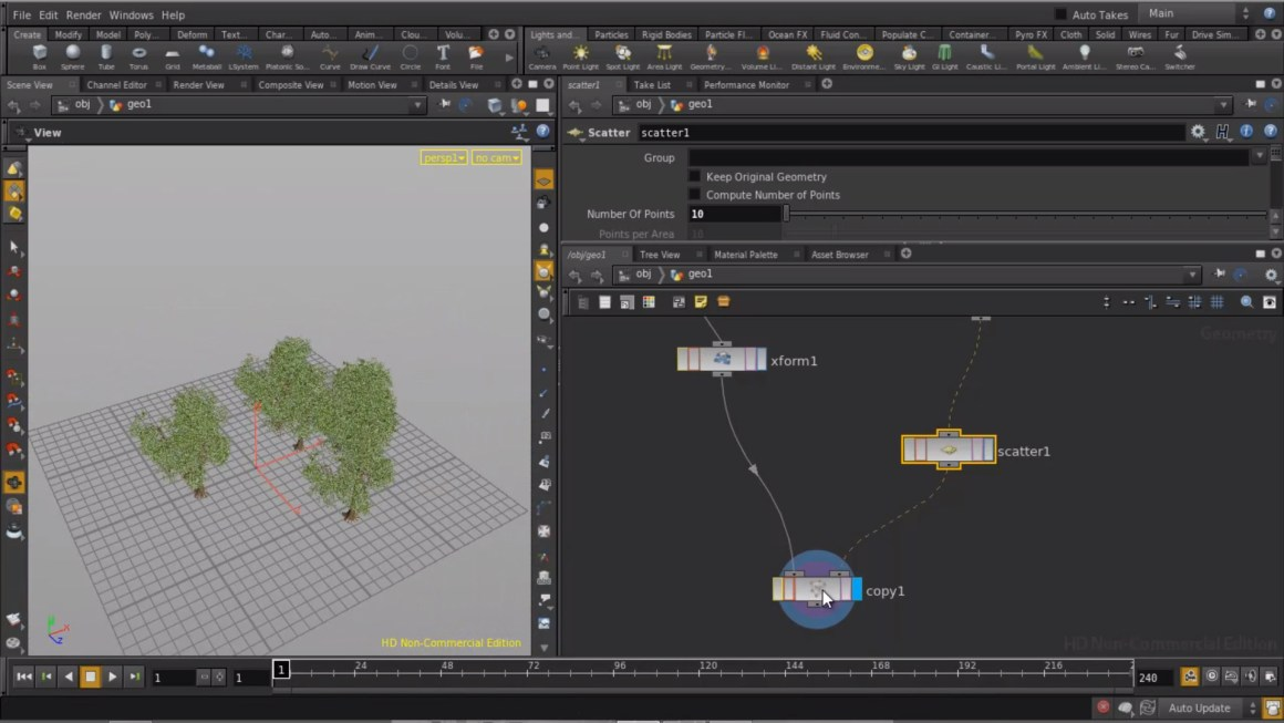 Packed Primitives in Houdini 13 - part 1 by Rohan Dalvi