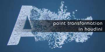 Point transformation in Houdini by Rohan Dalvi