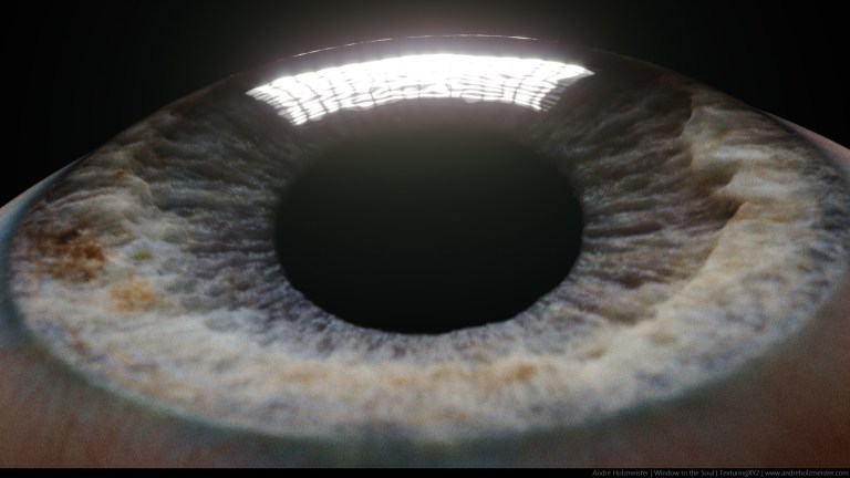 Window To The Soul | CGI Eye | by Andre Holzmeister