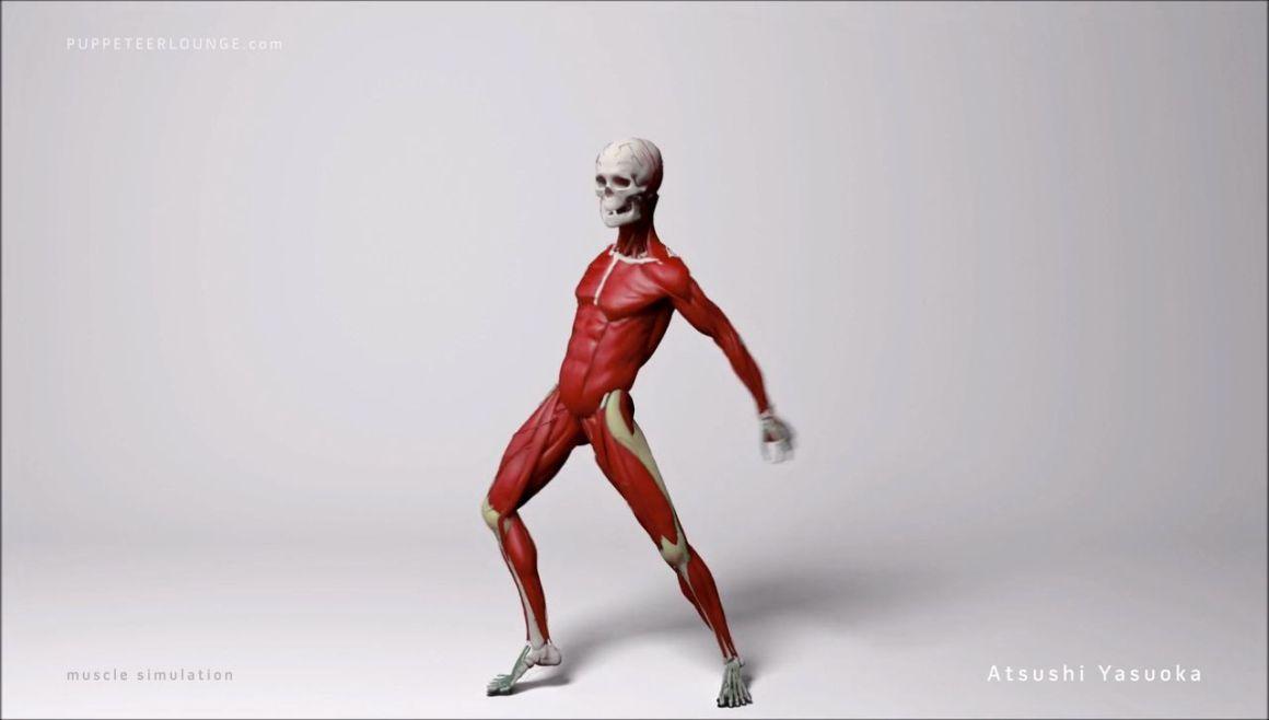 Ziva VFX Muscle Simulation Breakdown