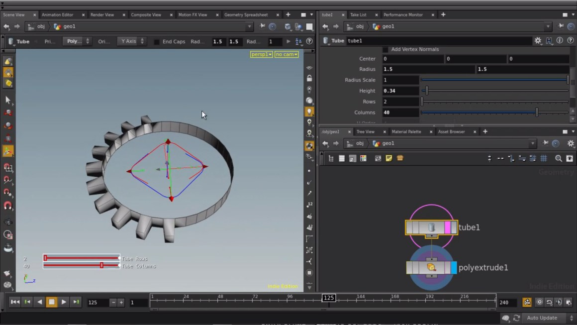 Procedural Modeling and Animation and Houdini