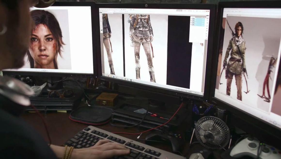 Crystal Dynamics Celebrating 25 Years BTS