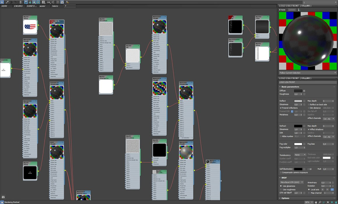 DAN FORCE HEADLAMP FULL CGI ANIMATION
