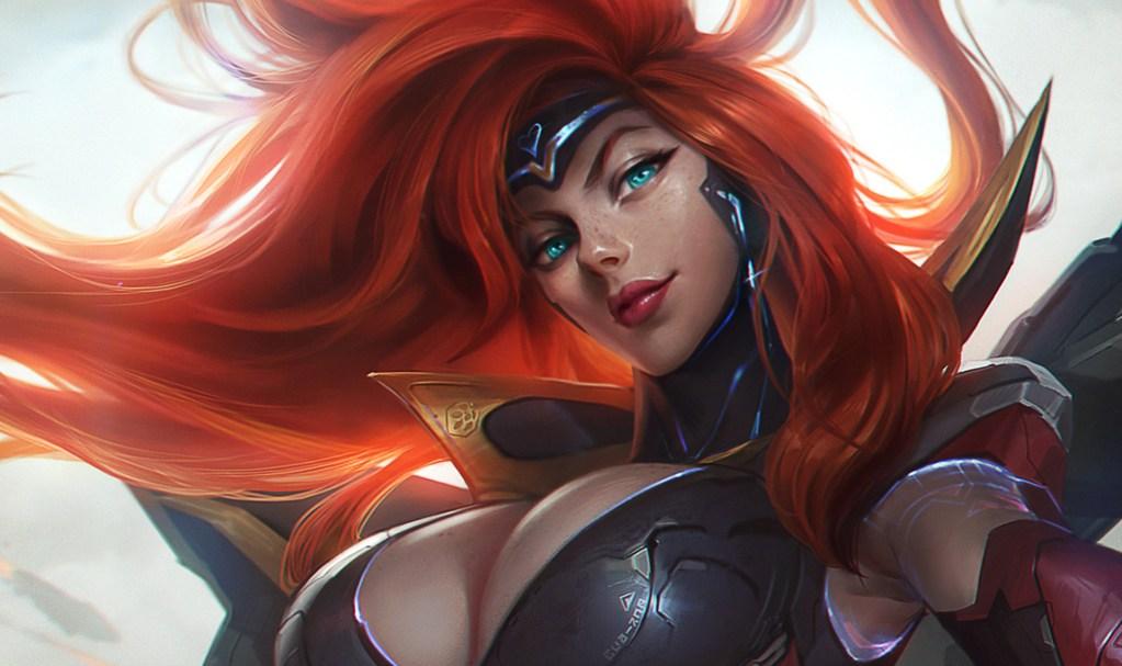 Gun Goddess Miss Fortune Splash Art for League of Legends by Chengwei Pan