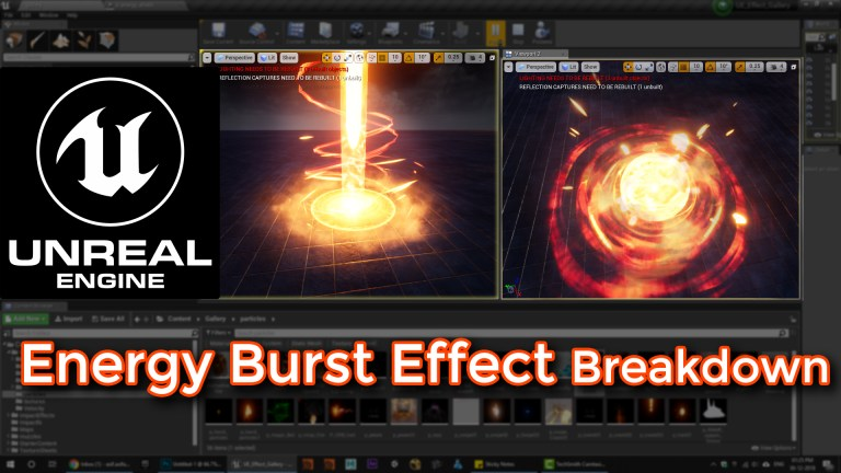 Unreal Engine | Energy Burst Effect Breakdown