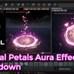 Unreal Engine | Magical Petals Aura Effect Breakdown