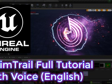 Unreal Engine AnimTrail Full Tutorial With Voice (English)