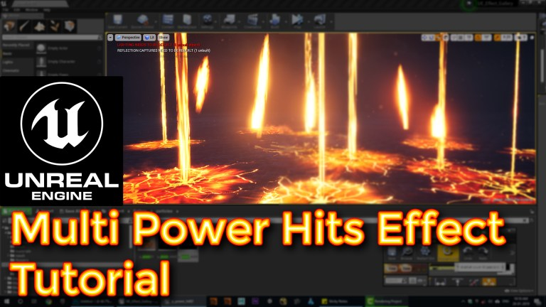 Unreal Engine Multi Power Hits Effect Tutorial | CGHOW