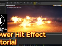 Unreal Engine Power Hit Effect Tutorials