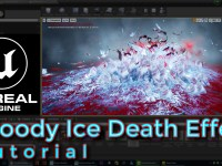 Unreal Engine Bloody Ice Death Effect Tutorial
