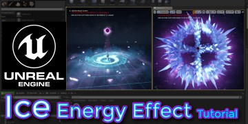 Unreal Engine Ice Energy Effect Tutorial