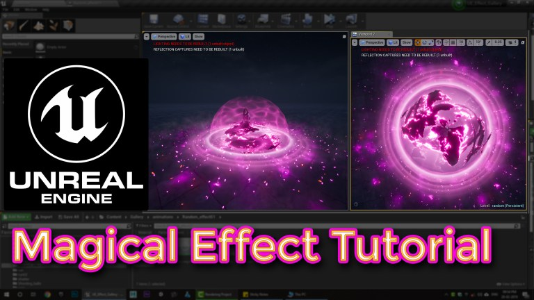 Unreal engine Magical Effect Tutorial