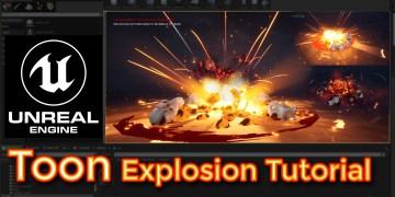 Unreal Engine Toon Explosion Tutorial