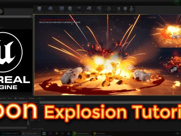 Unreal Engine Toon Explosion Tutorial
