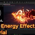 Unreal Engine Wolf Energy Effect tutorial