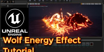 Unreal Engine Wolf Energy Effect tutorial