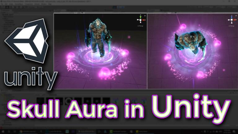 Unity Skull Aura Effect Tutorial
