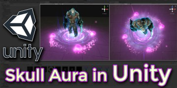 Unity Skull Aura Effect Tutorial