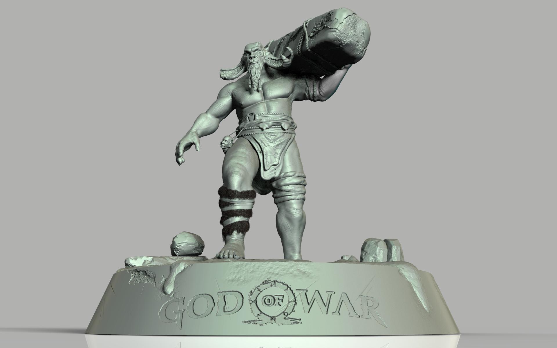 God Of War Troll Cghow
