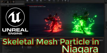 Unreal Engine Tutorial - Niagara Mesh Particles