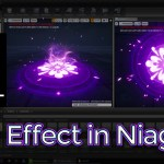 Unreal Engine Aura Effect in Niagara
