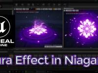Unreal Engine Aura Effect in Niagara