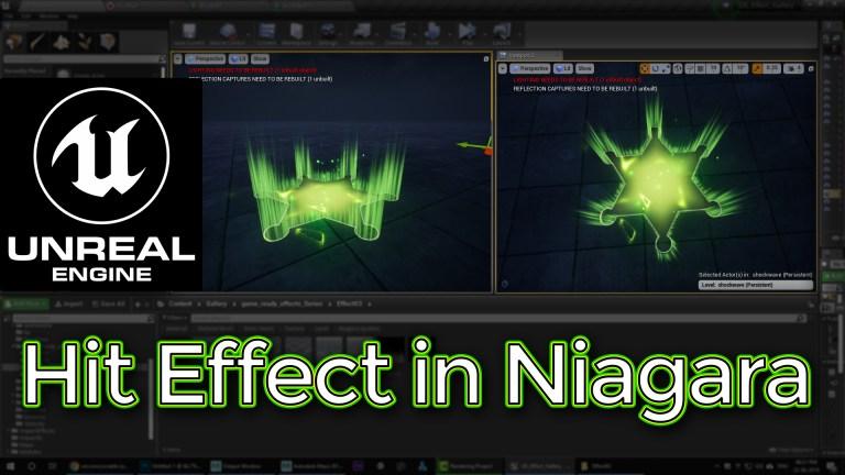 Unreal Engine Hit Effect in Niagara