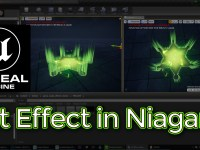 Unreal Engine Hit Effect in Niagara