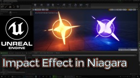Unreal Engine Impact Effect in Niagara