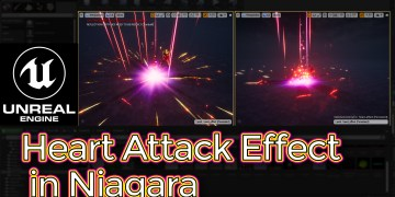 Unreal Engine Heart Attack Effect in Niagara Tutorial