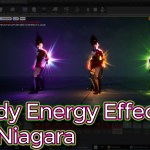 Unreal Engine Body Energy Effect in Niagara Tutorials
