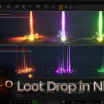 Diablo 3 Loot Drop Effect in UE4 Niagara Tutorial (Requested)