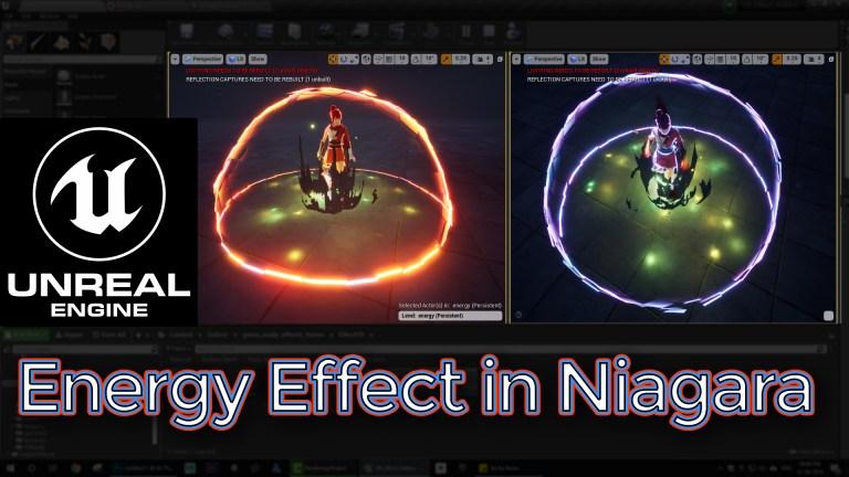 Energy Effect Unreal Engine Niagara Tutorial