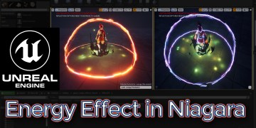 Energy Effect Unreal Engine Niagara Tutorial