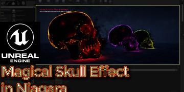 UE4 - Tutorial - Niagara Skull Mesh Particles