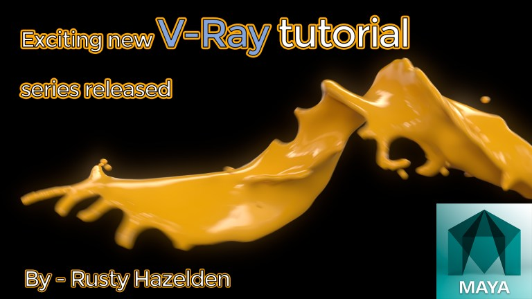 Exciting new V-Ray tutorial series released