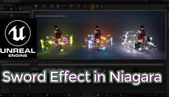 Sword Effect in UE4 Niagara Tutorial