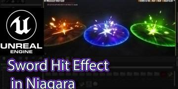 Unreal Engine Niagara Tutorials | Sword Hit Effect