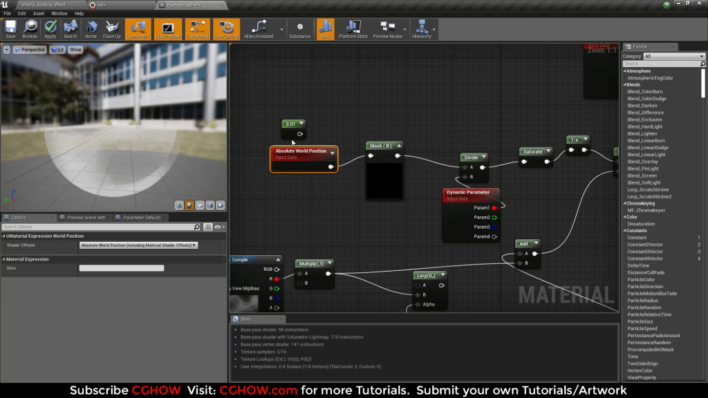 Magic of World Position Offset and Niagara in Unreal engine Tutorial