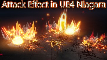 Attack Effect in Unreal Engine Niagara Tutorial