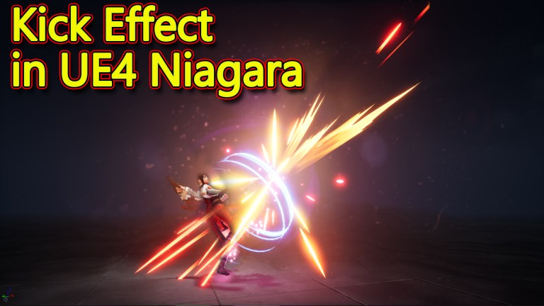 Unreal Engine Niagara Tutorial | Kick Effect