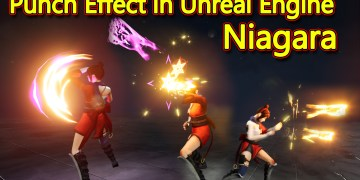 Unreal Engine Niagara Tutorial | Punch Effect Tutorial